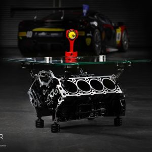Mercedes AMG V8 Engine Table by The Supercar Store