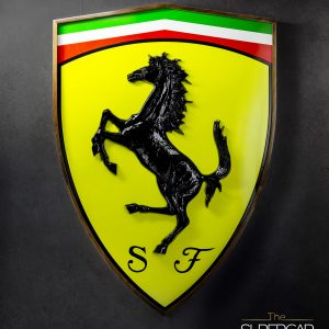 Ferrari Emblem XXL by The Supercar Store